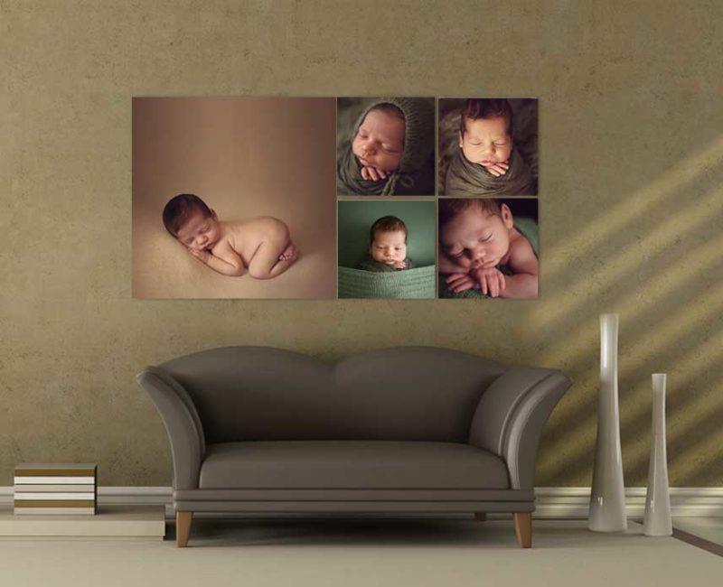 Newborn canvas collection, Lifetime Stories Photography, Victoria Burcusel, Canvas, prints, professional photographer Brisbane, Matter hospital newborn, professional products, long lasting images. family portrait